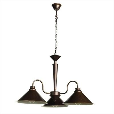 Подвесная люстра Arte Lamp Cone A9330LM-3BR - фото 554724