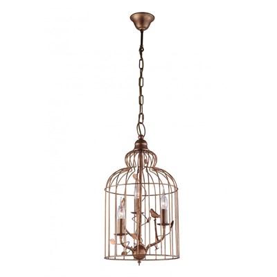 Подвесная люстра Arte Lamp Gabbia A1865SP-3BG - фото 554828