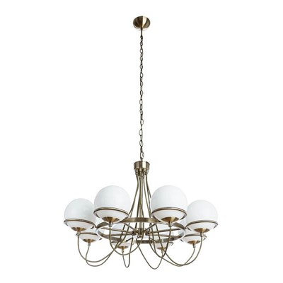 Подвесная люстра Arte Lamp Bergamo A2990LM-8AB - фото 557551