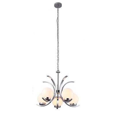 Подвесная люстра Arte Lamp Claudia A8055LM-5CC - фото 557573