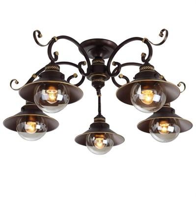 Потолочная люстра Arte Lamp 7 A4577PL-5CK - фото 571258