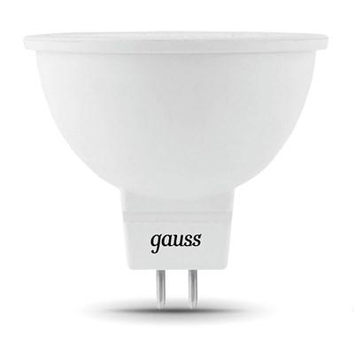 Лампа светодиодная Gauss GU5.3 5W 4100K матовая 101505205 - фото 618520