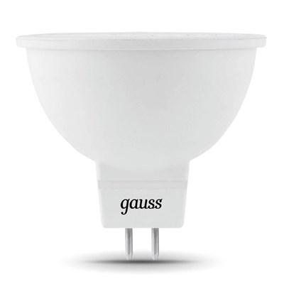 Лампа светодиодная Gauss GU5.3 5W 4100K матовая 201505205 - фото 618522