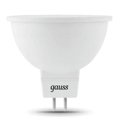 Лампа светодиодная Gauss GU5.3 7W 4100K матовая 101505207 - фото 618524