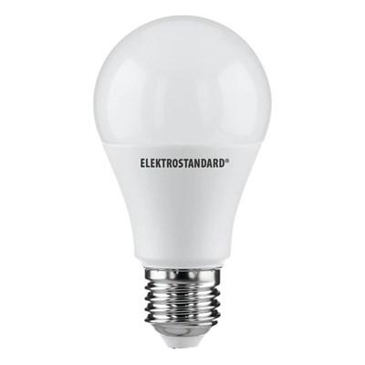 Лампа светодиодная Elektrostandard E27 15W 6500K матовая 4690389085833 - фото 618576