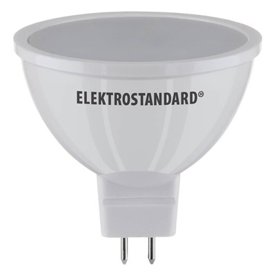 Лампа светодиодная Elektrostandard G5.3 5W 6500K матовая 4690389081644 - фото 618582