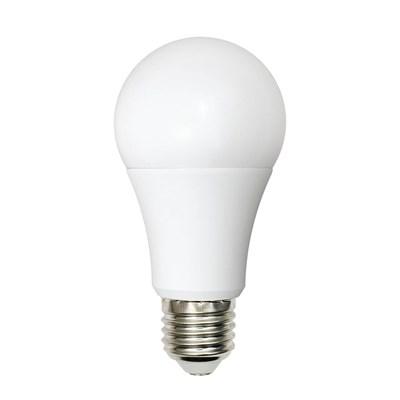 Лампа светодиодная (UL-00001569) Uniel E27 9W 4000K матовая LED-A60-9W/WW+NW/E27/FR PLB01WH - фото 618620