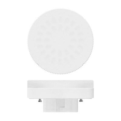 Лампа светодиодная (UL-00001672) Uniel GX53 8W 3000K матовая LED-GX53-8W/WW/GX53/FR PLZ01WH - фото 618627