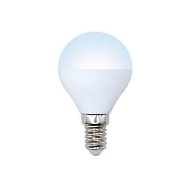 Лампа светодиодная (UL-00001777) E14 8W 4000K матовая LED-G45-8W/NW/E14/FR/O - фото 618639