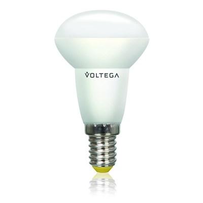 Лампа светодиодная Voltega E14 4.5W 2800К рефлектор матовый VG4-RM2E14warm4W 5757 - фото 618667