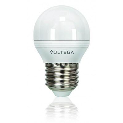 Лампа светодиодная Voltega E27 5.5W 2800К матовая VG2-G2E27warm5W 8342 - фото 618684