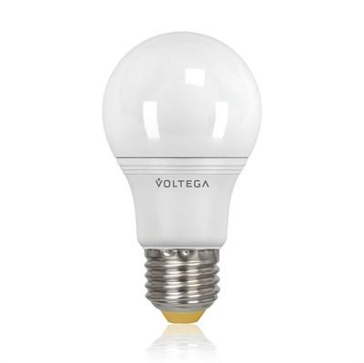 Лампа светодиодная Voltega E27 8W 4000К шар матовый VG2-A2E27cold8W 5736 - фото 618689
