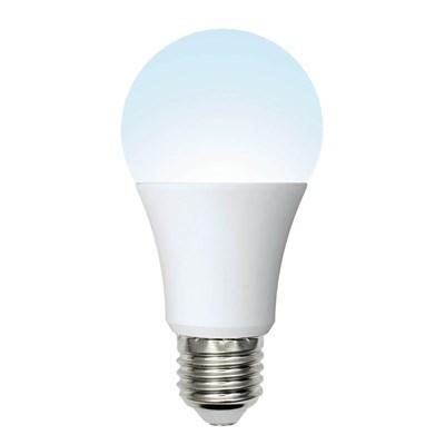 Лампа светодиодная (UL-00002382) Uniel E27 10W 4000K матовая LED-A60-10W/NW/E27/FR/24-48V - фото 618768