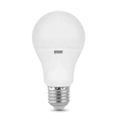 Лампа светодиодная Gauss E27 10W 6500K матовая 23230 - фото 618776