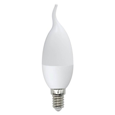 Лампа светодиодная (UL-00003801) E14 7W 3000K матовая LED-CW37-7W/WW/E14/FR/NR - фото 618891