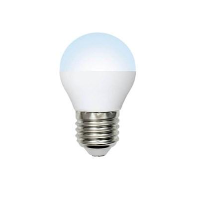 Лампа светодиодная (UL-00003828) E27 9W 4000K матовая LED-G45-9W/NW/E27/FR/NR - фото 618925