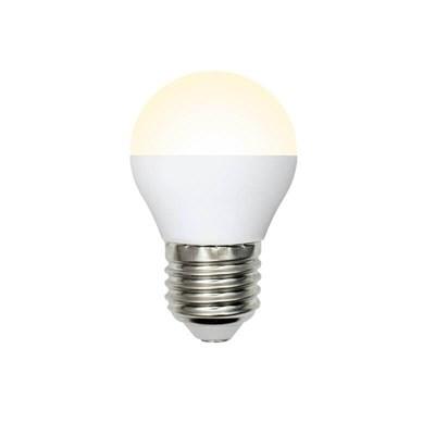 Лампа светодиодная (UL-00003829) E27 9W 3000K матовая LED-G45-9W/WW/E27/FR/NR - фото 618927