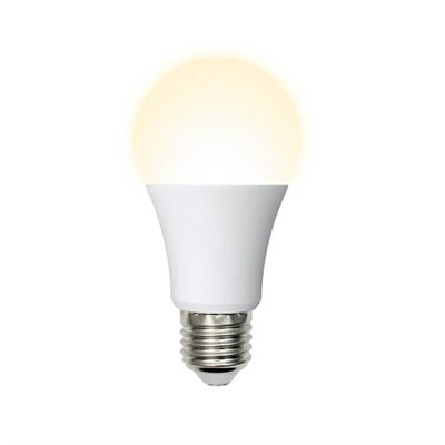 Лампа светодиодная (UL-00004027) E27 16W 3000K матовая LED-A60-16W/WW/E27/FR/NR - фото 618946