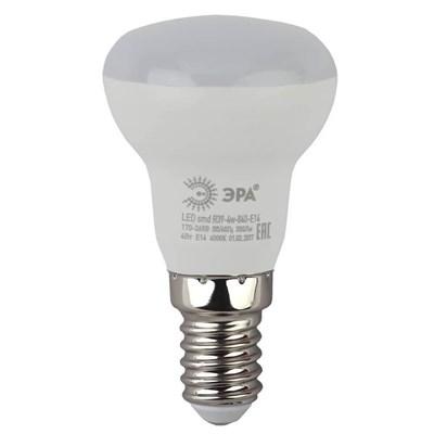Лампа светодиодная ЭРА E14 4W 4000K матовая LED R39-4W-840-E14 Б0020555 - фото 619128