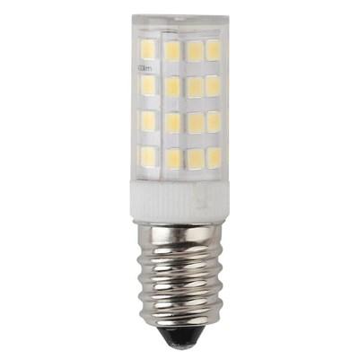 Лампа светодиодная ЭРА E14 5W 2700K прозрачная LED T25-5W-CORN-827-E14 Б0033030 - фото 619135
