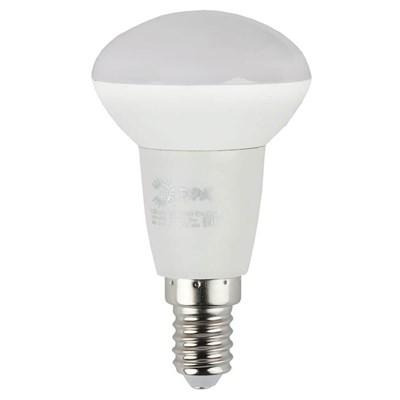 Лампа светодиодная ЭРА E14 6W 4000K матовая ECO LED R50-6W-840-E14 Б0020634 - фото 619166