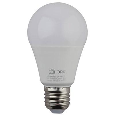 Лампа светодиодная ЭРА E27 13W 4000K матовая LED A60-13W-840-E27 Б0020537 - фото 619329