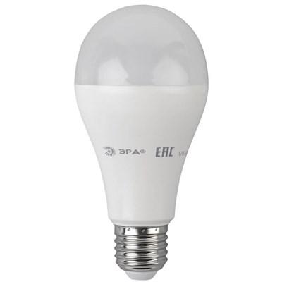 Лампа светодиодная ЭРА E27 18W 2700K матовая ECO LED A65-18W-827-E27 Б0031706 - фото 619358