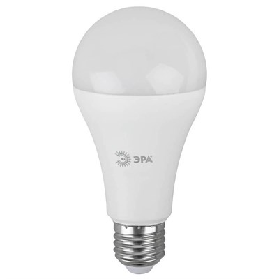 Лампа светодиодная ЭРА E27 21W 2700K матовая LED A65-21W-827-E27 Б0035331 - фото 619390