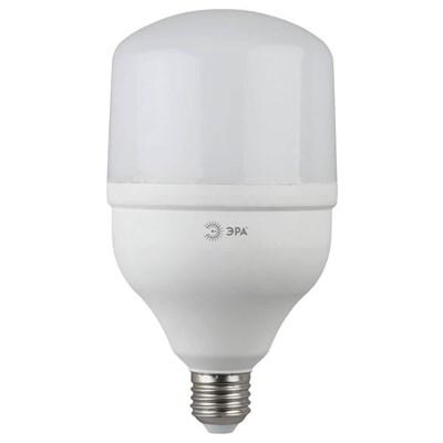 Лампа светодиодная ЭРА E27 40W 4000K матовая LED POWER T120-40W-4000-E27 Б0027005 - фото 619425
