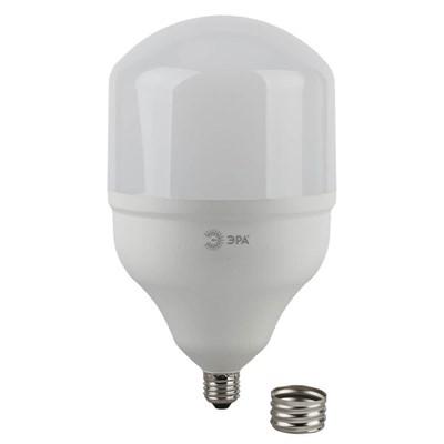 Лампа светодиодная ЭРА E27 65W 4000K матовая LED POWER T160-65W-4000-E27/E40 Б0027923 - фото 619437