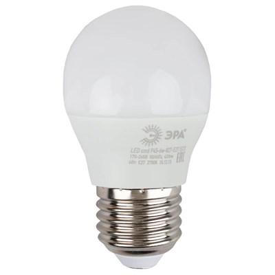 Лампа светодиодная ЭРА E27 6W 2700K матовая ECO LED P45-6W-827-E27 Б0020629 - фото 619444