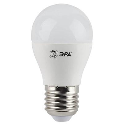 Лампа светодиодная ЭРА E27 7W 4000K матовая LED P45-7W-840-E27 Б0020554 - фото 619481