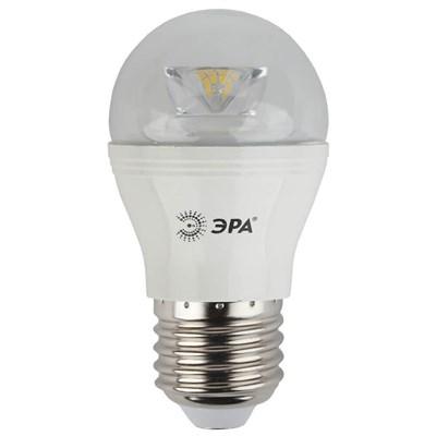 Лампа светодиодная ЭРА E27 7W 4000K прозрачная LED P45-7W-840-E27-Clear Б0020553 - фото 619485