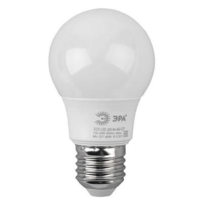 Лампа светодиодная ЭРА E27 8W 4000K матовая ECO LED A55-8W-840-E27 Б0032096 - фото 619517