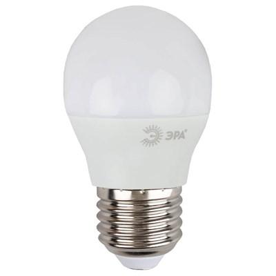 Лампа светодиодная ЭРА E27 9W 4000K матовая LED P45-9W-840-E27 Б0029044 - фото 619555