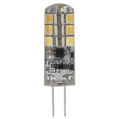 Лампа светодиодная ЭРА G4 1,5W 2700K прозрачная LED JC-1,5W-12V-827-G4 Б0033188 - фото 619618