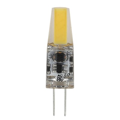Лампа светодиодная ЭРА G4 1,5W 4000K прозрачная LED JC-1,5W-12V-COB-840-G4 Б0033198 - фото 619627