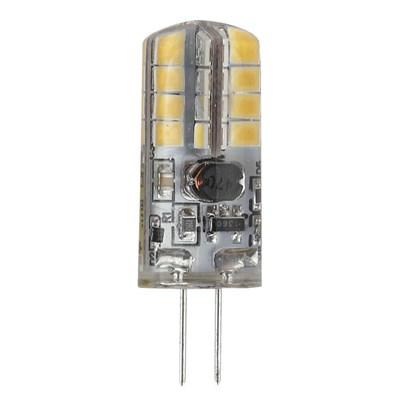 Лампа светодиодная ЭРА G4 2,5W 2700K прозрачная LED JC-2,5W-12V-827-G4 Б0033191 - фото 619630
