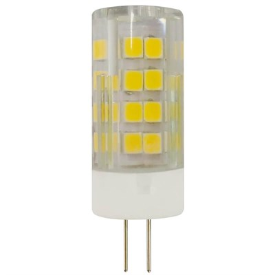 Лампа светодиодная ЭРА G4 3,5W 4000K прозрачная LED JC-3,5W-220V-CER-840-G4 Б0027856 - фото 619645