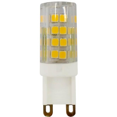Лампа светодиодная ЭРА G9 5W 2700K прозрачная LED JCD-5W-CER-827-G9 Б0027863 - фото 619672
