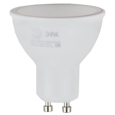 Лампа светодиодная ЭРА GU10 5W 2700K матовая ECO LED MR16-5W-827-GU10 Б0019062 - фото 619696