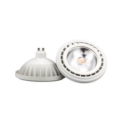 Лампа светодиодная GU10 15W 4000K прозрачная 9831 - фото 619827