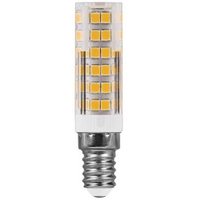 Лампа светодиодная Feron E14 7W 4000K Прямосторонняя Матовая LB-433 25899 - фото 619980