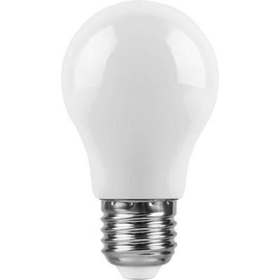 Лампа светодиодная Feron E27 3W 6400K Шар Матовая LB-375 25920 - фото 620039