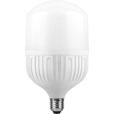 Лампа светодиодная Feron E27-E40 40W 6400K Цилиндр Матовая LB-65 25538 - фото 620077