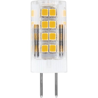 Лампа светодиодная Feron G4 5W 4000K Прямосторонняя Матовая LB-432 25861 - фото 620118
