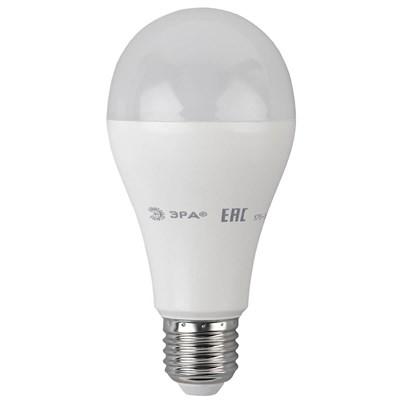 Лампа светодиодная ЭРА E27 20W 4000K матовая ECO LED A65-20W-840-E27 Б0031710 - фото 620356