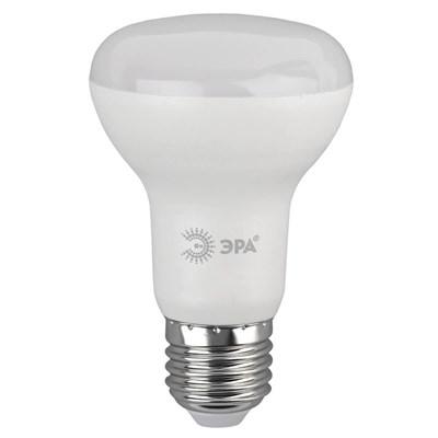 Лампа светодиодная ЭРА E27 8W 2700K матовая LED R63-8W-827-E27 Б0020557 - фото 620389