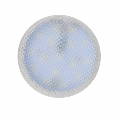 Лампа светодиодная (UL-00006498) Uniel GX53 7W 4000K призма LED-GX53-7W/4000K+4000K/GX53/PR PLB02WH - фото 620464