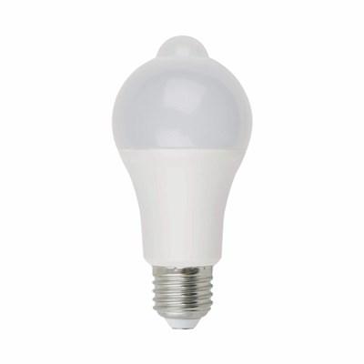 Лампа светодиодная (UL-00005713) Uniel E27 12W 4000K матовая LED-A60-12W/4000K/E27/PS+MS PLS10WH - фото 620495